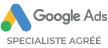 Google Ads Spécialiste Agréé